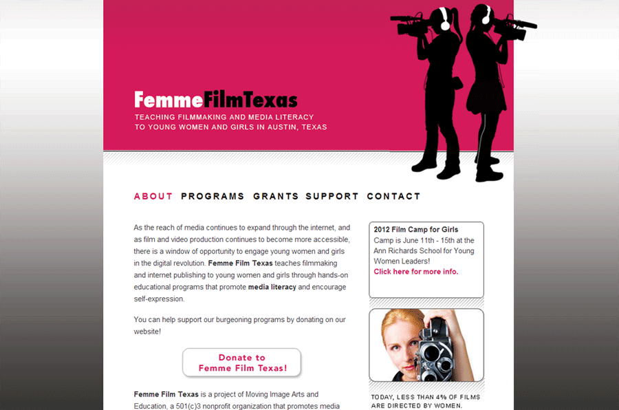 Film Web Design